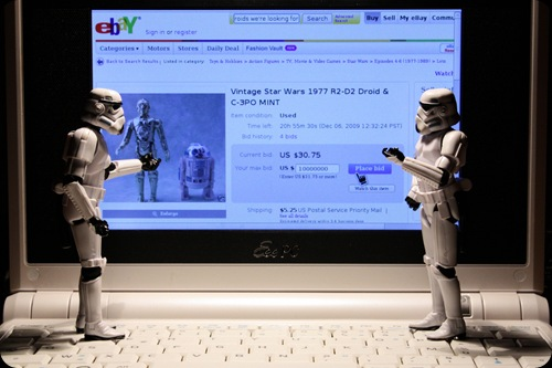 cool star wars photo droids and ebay