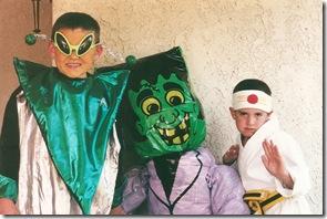 alien frank and ninja