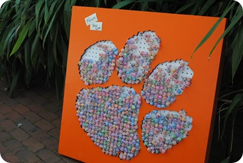 Lollipops from Clemson
