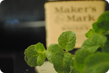 Mint and Maker's Mark