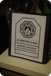 Dharma Initiative food drop protocol manual