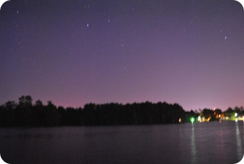 Lake Murray at night