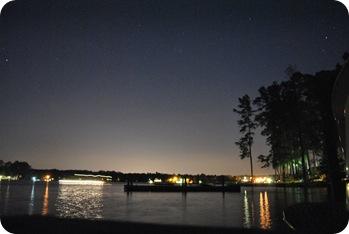 Lake Murray at night