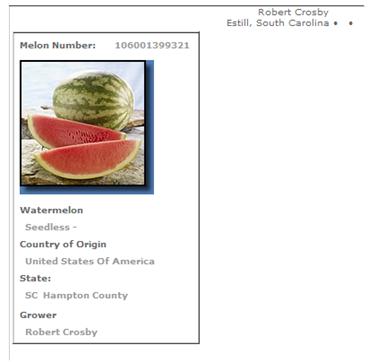 SC watermelon