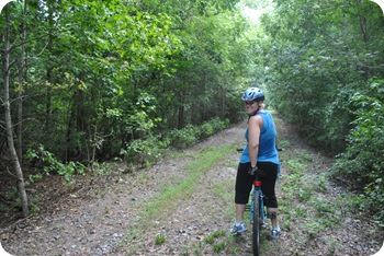 Me on the Palmetto Trail