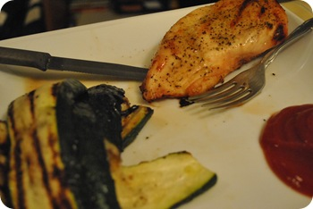 chicken and zucchini