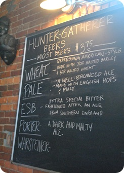 Hunter-Gatherer Beers