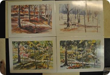 four seasons prints