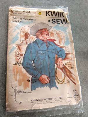 Male Pattern Boldness Kwik Sew Mens Western Jacket Muslin