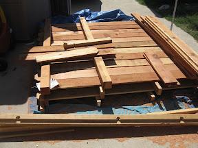 Redwood Dry Pile