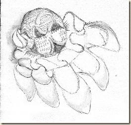 Second Flower Motif of Detached Buttonhole