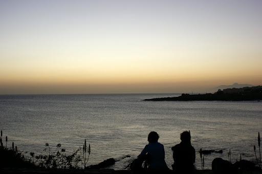 Pôr do sol na Praiinha, Cidade da Praia, Cabo Verde