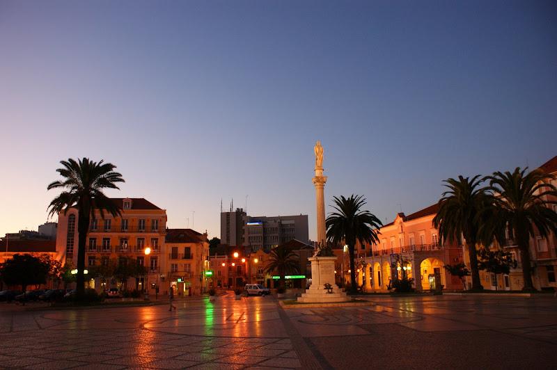 Praça du Bocage à noite