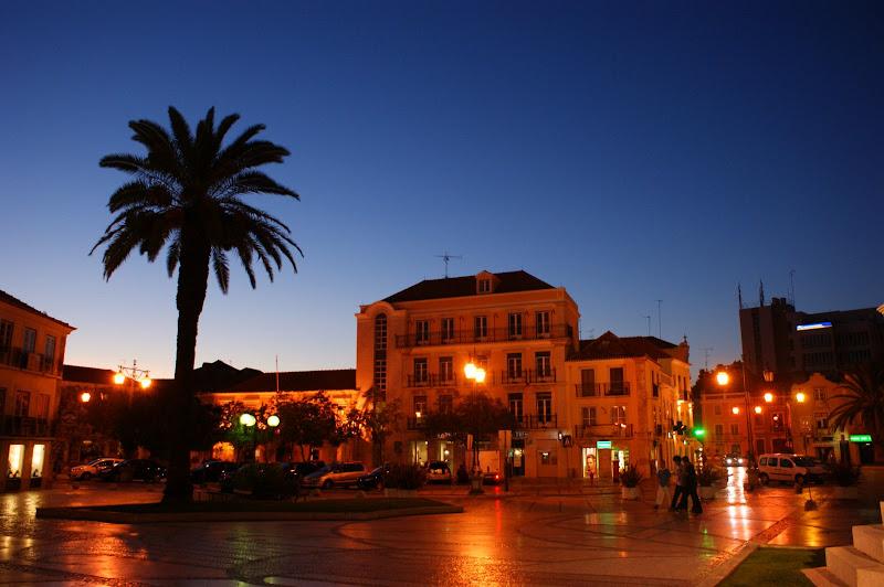 Praça du Bocage à noite, Setúbal