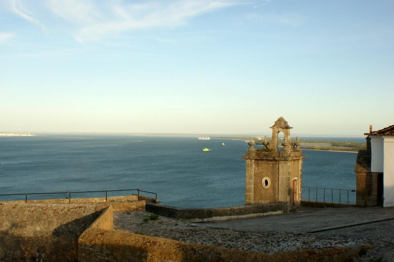 A Baia de Setúbal desde o Castelo de São Felipe