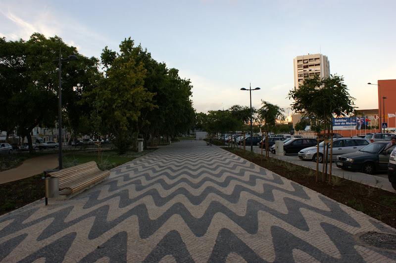 Calçada na Luisa Tody, Setúbal