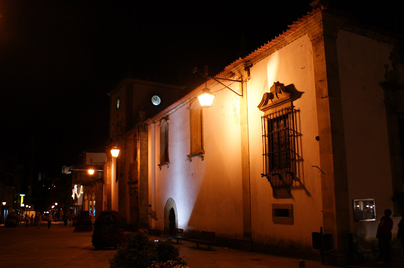 Bragança à noite