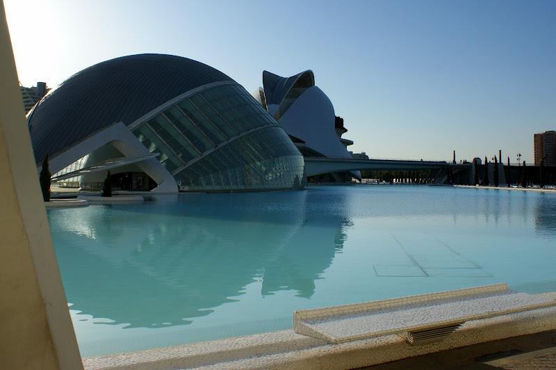 L' hemisferic e o palacio das artes, Valência, cidade das artes e das ciências