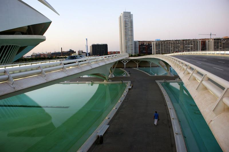 Ciudad de las ciencias y tecnologias, Valencia, España
