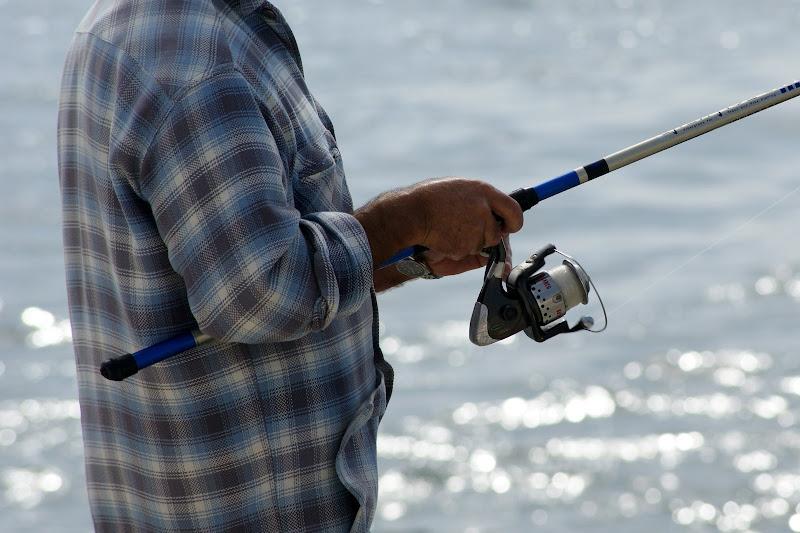 Pesca à beira Sado, Setúbal