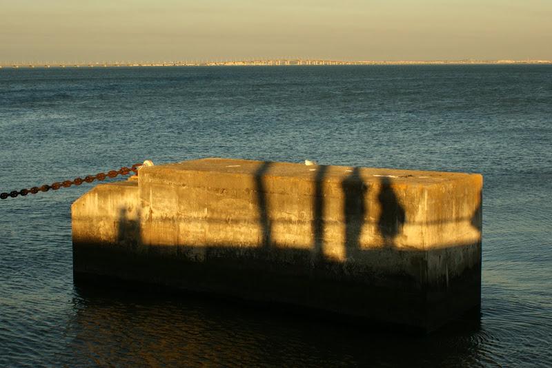 Sombras do fim de tarde
