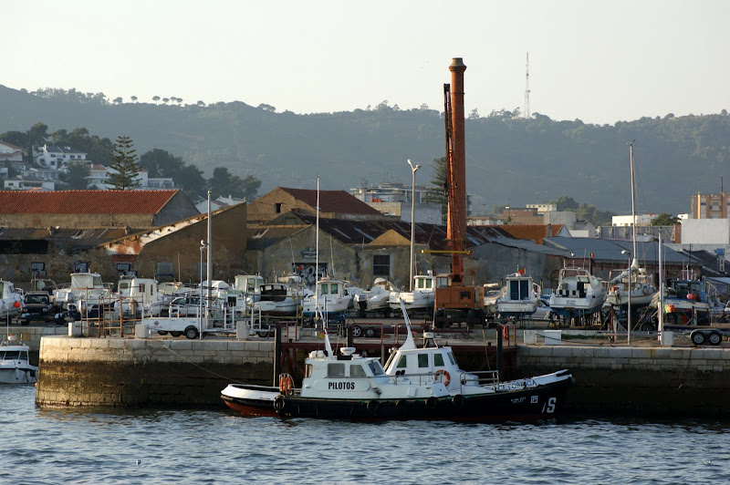Setúbal, vistas desde o rio Sado