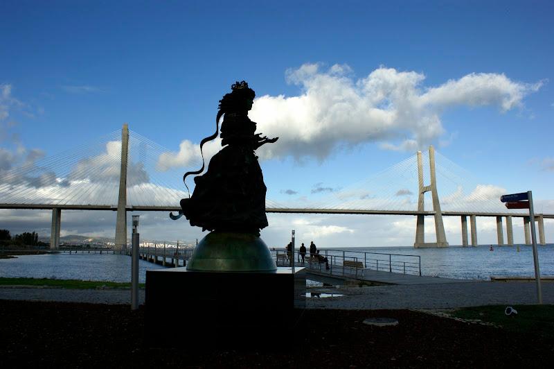 Catarina de Bragança e a ponte Vasco da Gama
