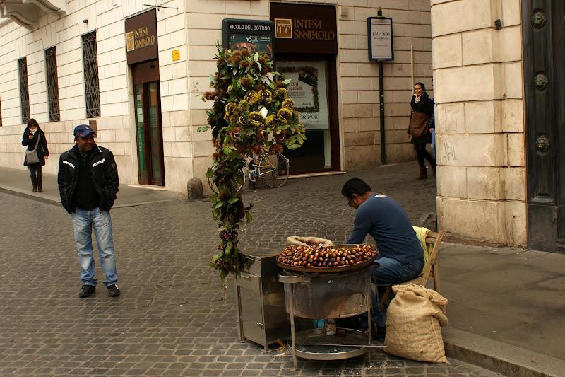 vendedores de Castanhas em Roma