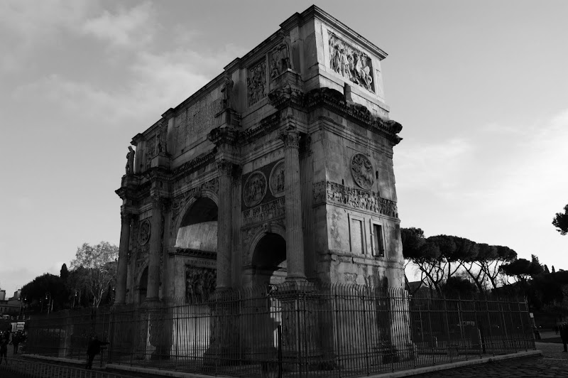 Arco Constantino, Roma