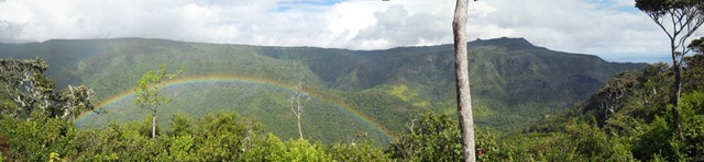 Panorama Gorges Rainbow