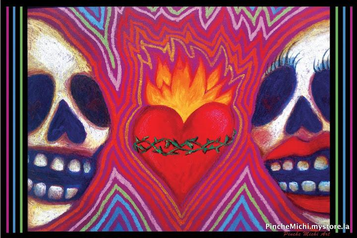 Calaca Passion Poster