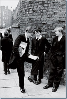 Etonians by Henri Cartier Bresson