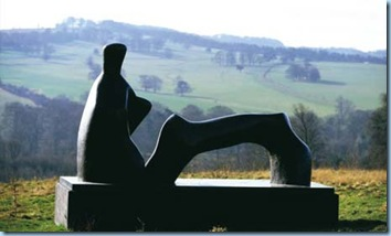 Henry Moore reclining