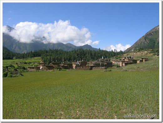 Namdho village, Phoksundo