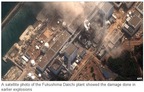 explosions on Fukushima Daiichi Plant