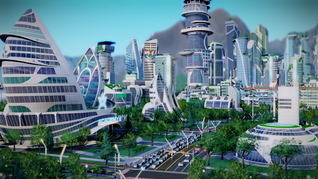 EA announces the futuristic Cities Of Tomorrow expansion for SimCity