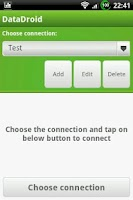 Screenshot of DataDroid