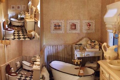 bellevu badkamer weergegeven
