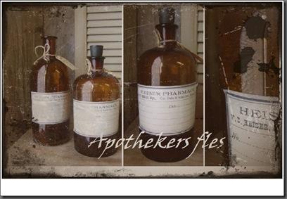 apothekers fles