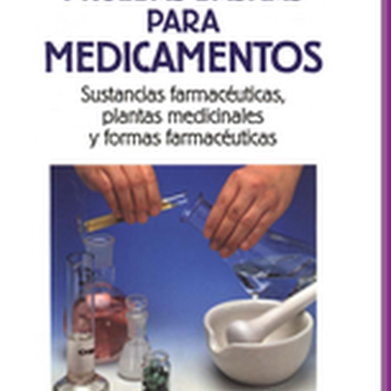 Controle de Qualidade 2 – Provas Básicas para Medicamentos