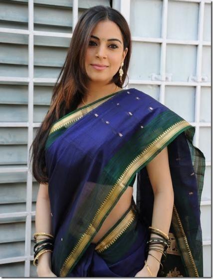 Shradha Arya – Telugu actress looking gorgeous in Saree… (3)