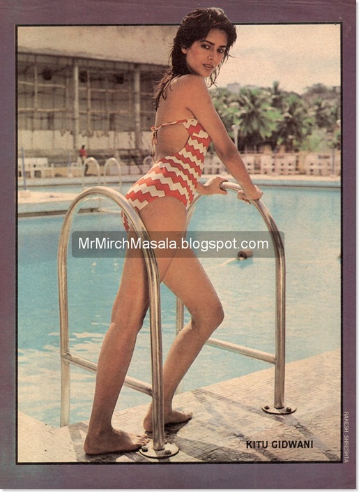 Kitu Gidwani in a Hot, Sexy Swimsuit - Absolutely Rare & Unseen Picture...