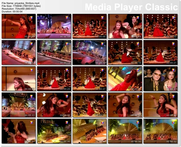 Priyanka Chopra's Performance at the Filmfare Awards - HQ Video...
