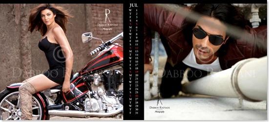 Sushmita Sen Looking Very Hot in Daboo Ratnani's 2009 Calendar...