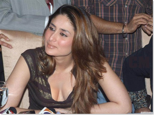 Kareena Kapoor at a Press Conference - Providing the View of a Lifetime...