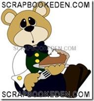 bear w pumpkin pie boy-200