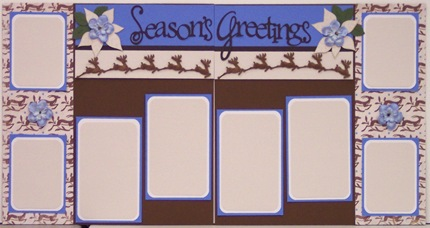 seasons greetings layout