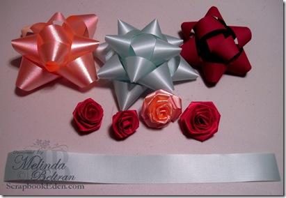 christmas bow step 0