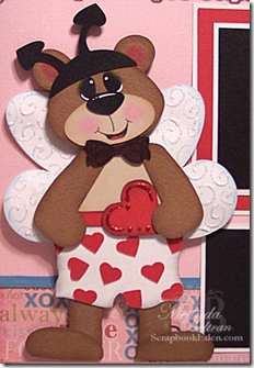 boy bear as love bug closeup-450j
