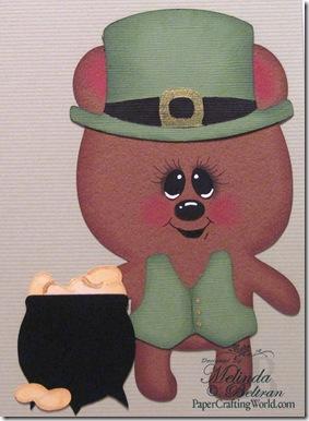 cricut lucky me teddy bear